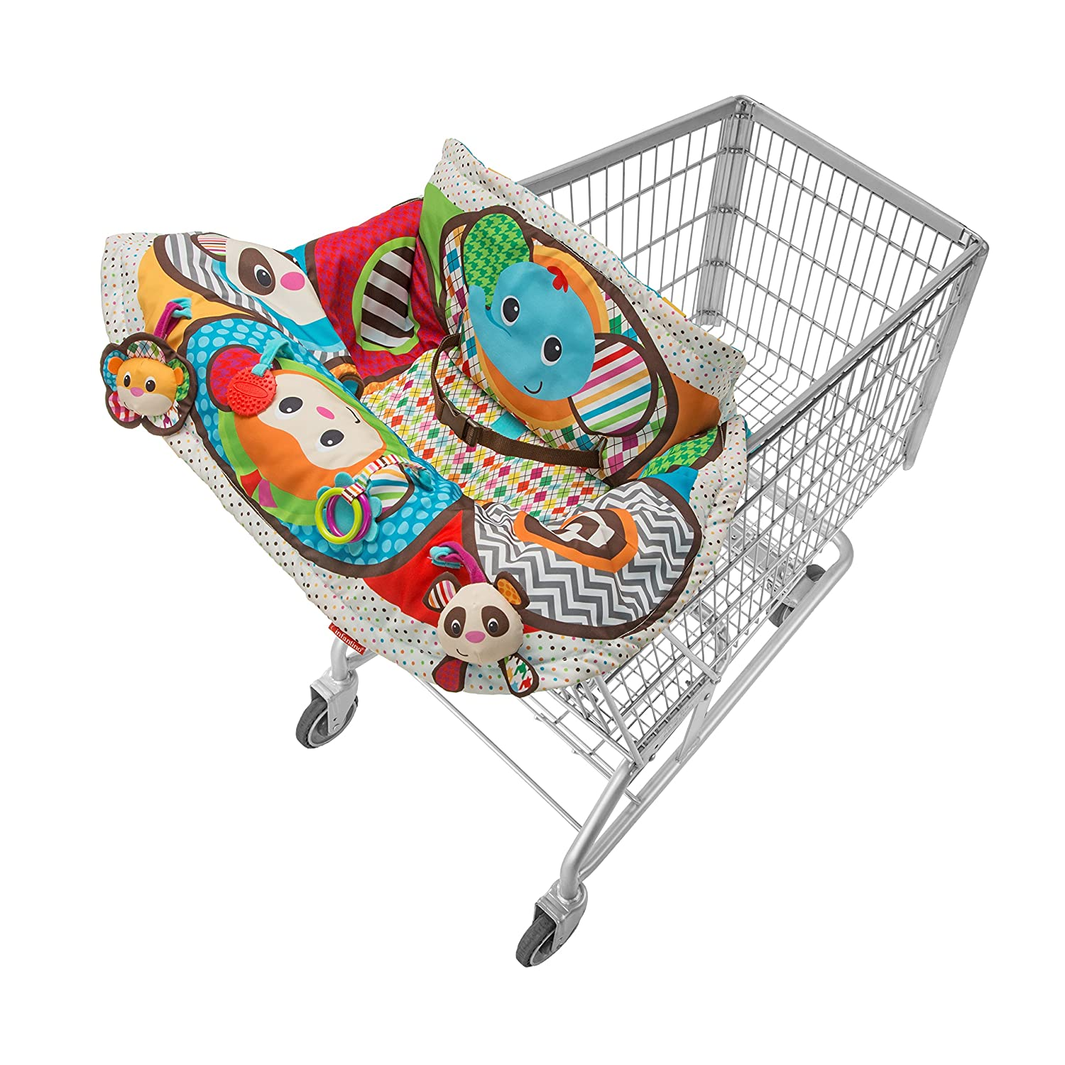 shopping cart cover baby infant activity play center toy high