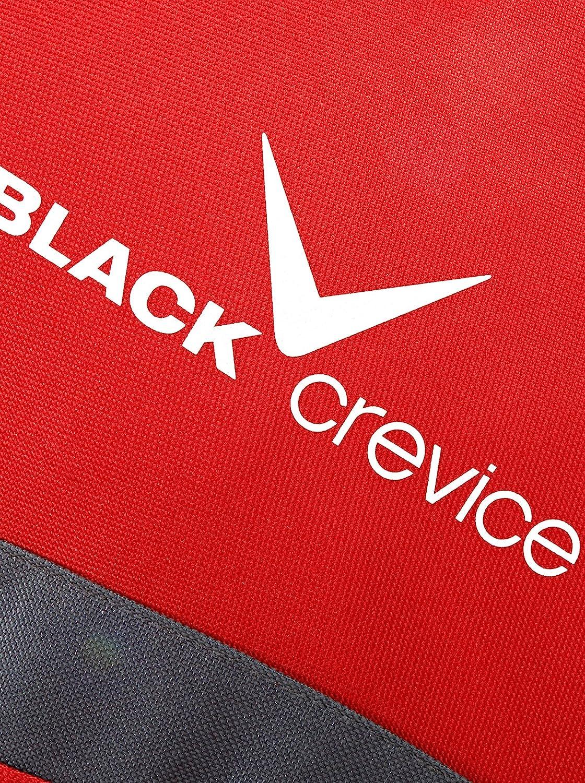 Femme Diff/érentes Couleurs Varios Colores Black Crevice Ceinture Lombaire Rojo y Gris 43 x 39 x 25 cm 42 Liter