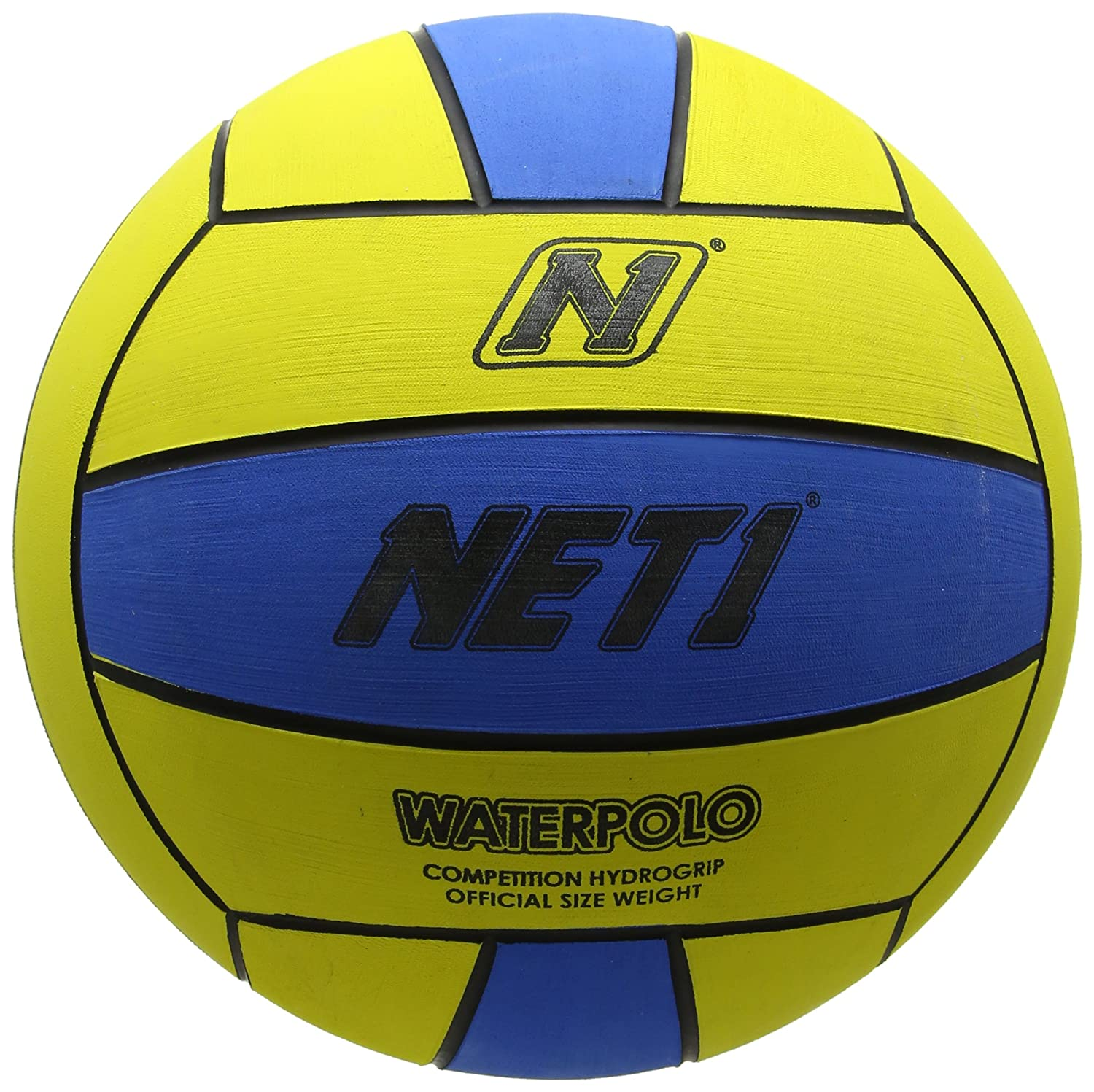 NET1 Game - Pelota de Waterpolo, Color Amarillo: Amazon.es ...