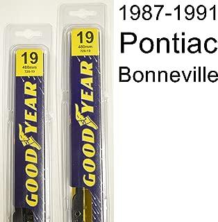 """product image for Pontiac Bonneville (1987-1991) Wiper Blade Kit - Set Includes 19"""" (Driver Side), 19"""" (Passenger Side) (2 Blades Total)"""