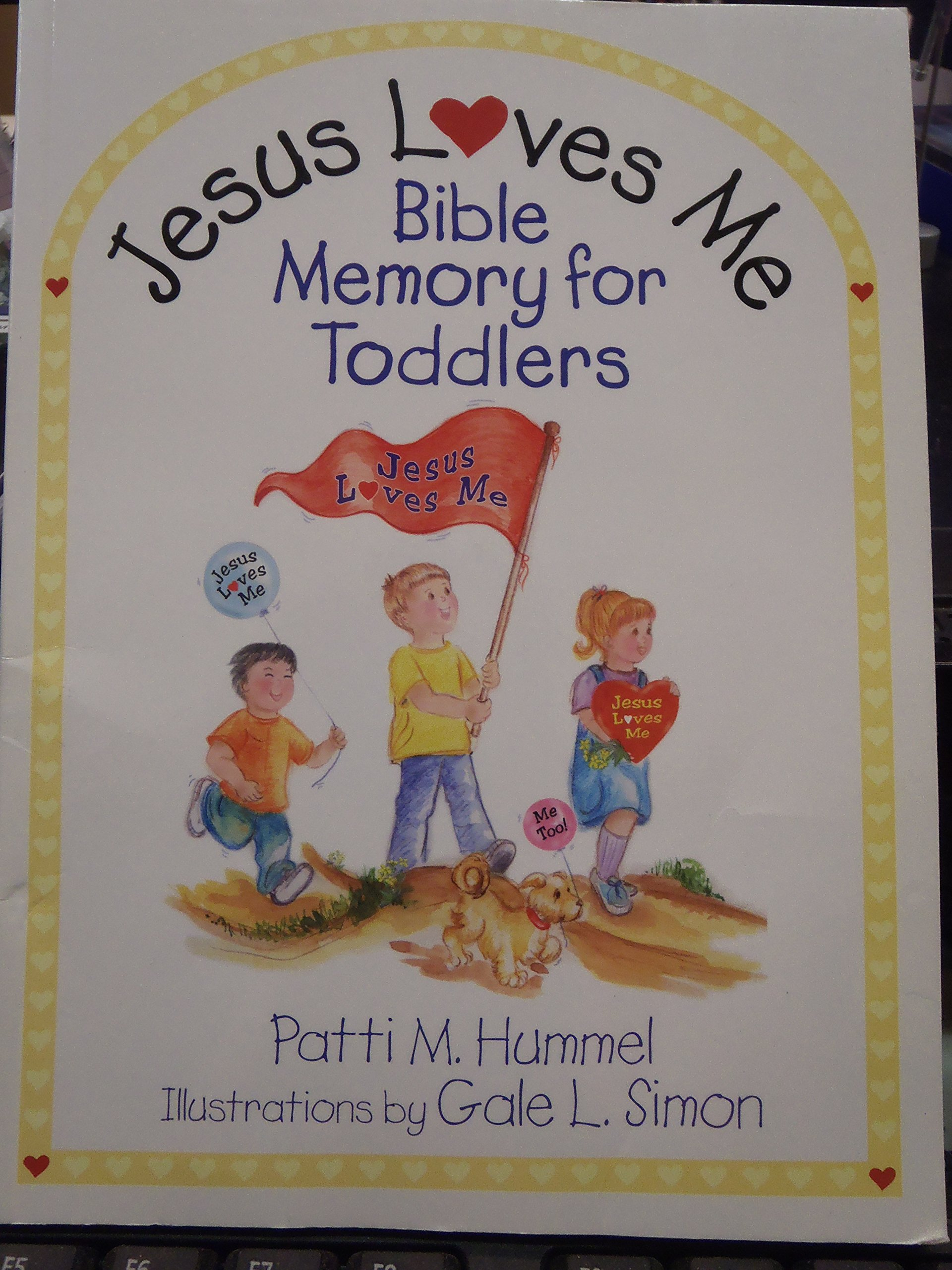 Read Online Jesus Loves Me: Bible Memory for Toddlers pdf epub