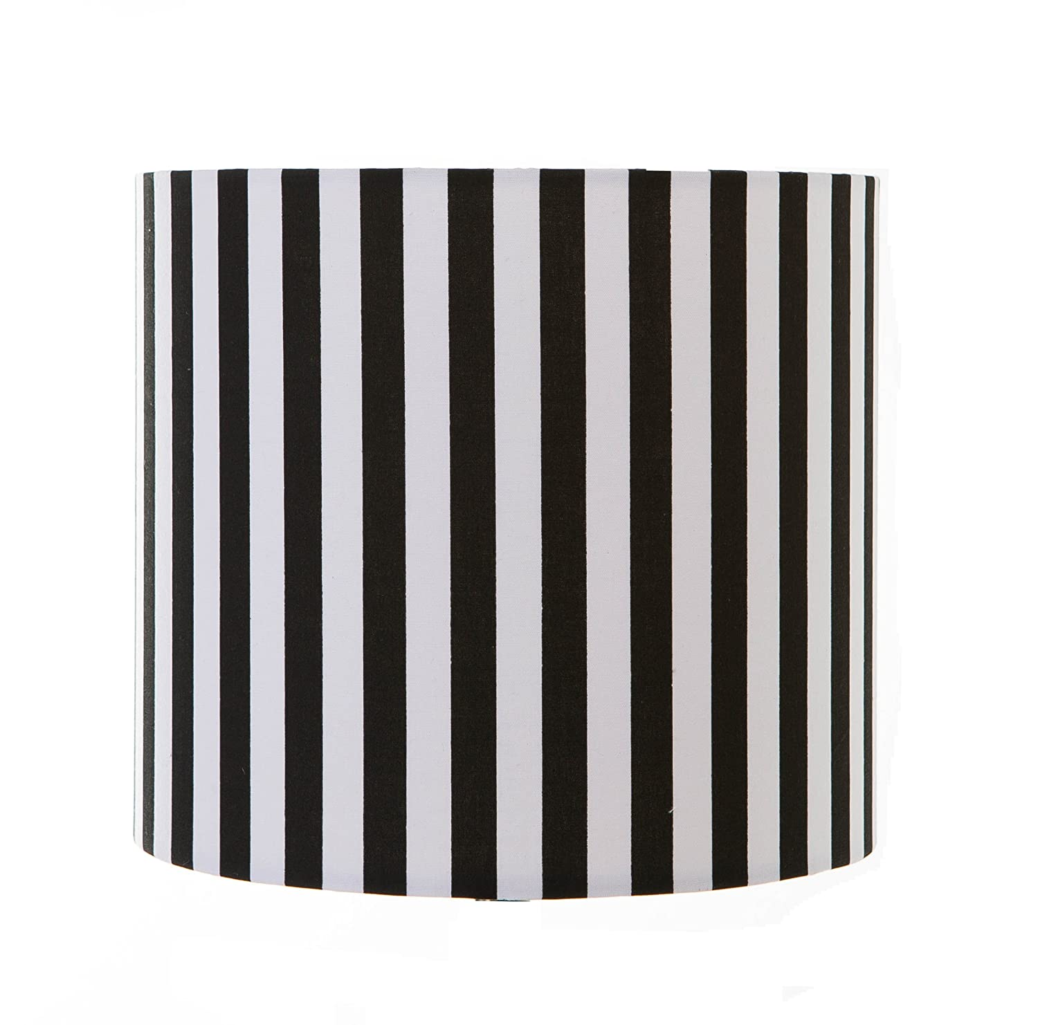 8drum cylinder lampshade black white stripe amazon 8drum cylinder lampshade black white stripe amazon lighting mozeypictures Image collections