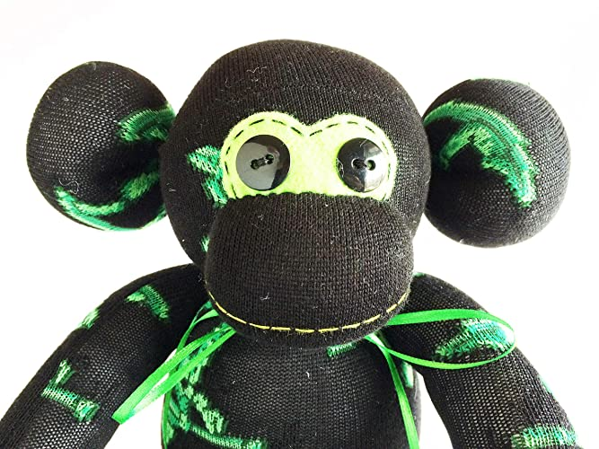 Air Force Gift Sock Monkey Memorial Camouflage  Monkey Marine Gift Army Gift Camouflage Sock Monkey Navy Gift Military Gift