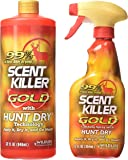 Wildlife Research Scent Killer Gold Spray Combo Pack, 44-Ounce