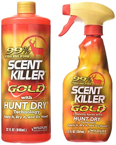 Wildlife Research Scent Killer Gold Spray review