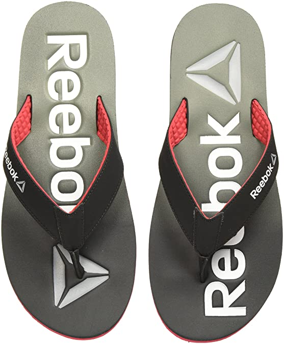 5b1e4d263 Reebok Men s Embossed Flip-Flops and House Slippers Flip-Flops   Slippers