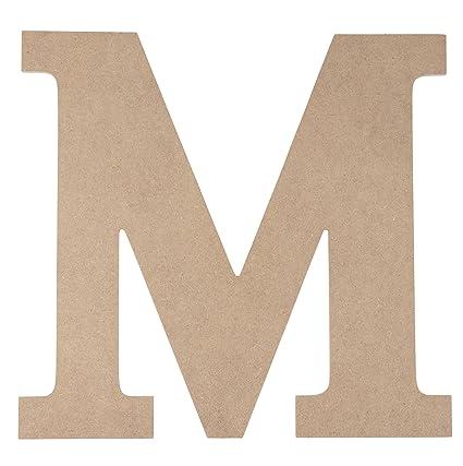 wooden greek letter unfinished wood letter m for mu paintable greek font for diy