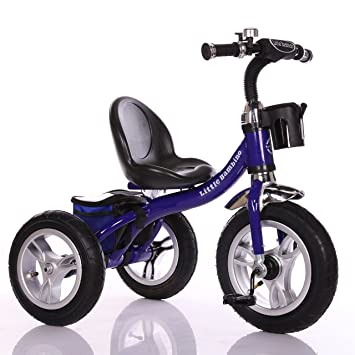 701cd01b772 Little Bambino RideOn Pedal Tricycle Children Kids Smart Design 3 Wheeler    Blue   CE Approved