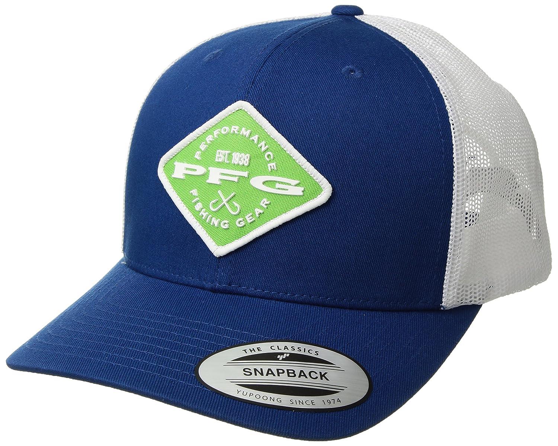 f4cd58ec Columbia PFG Mesh Snap Back Ball Cap, Marine Blue/Diamond Patch, One Size:  Amazon.ca: Sports & Outdoors
