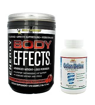 Amazon.com: Cuerpo Efectos Plus 1 Colon Detox, Granada de ...
