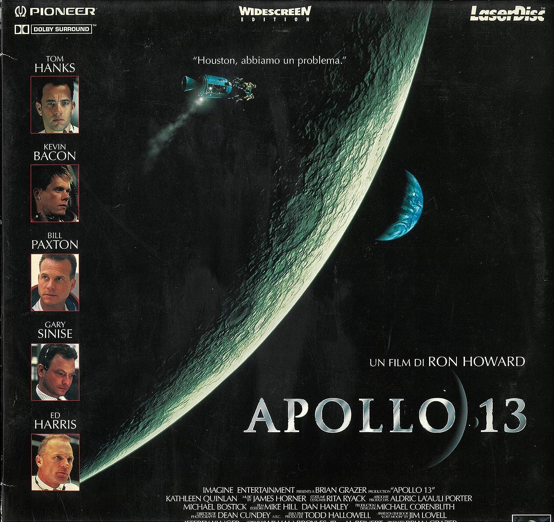 LASER DISC Ron Howard Apollo 13 - Tom Hanks - Kevin Bacon ...