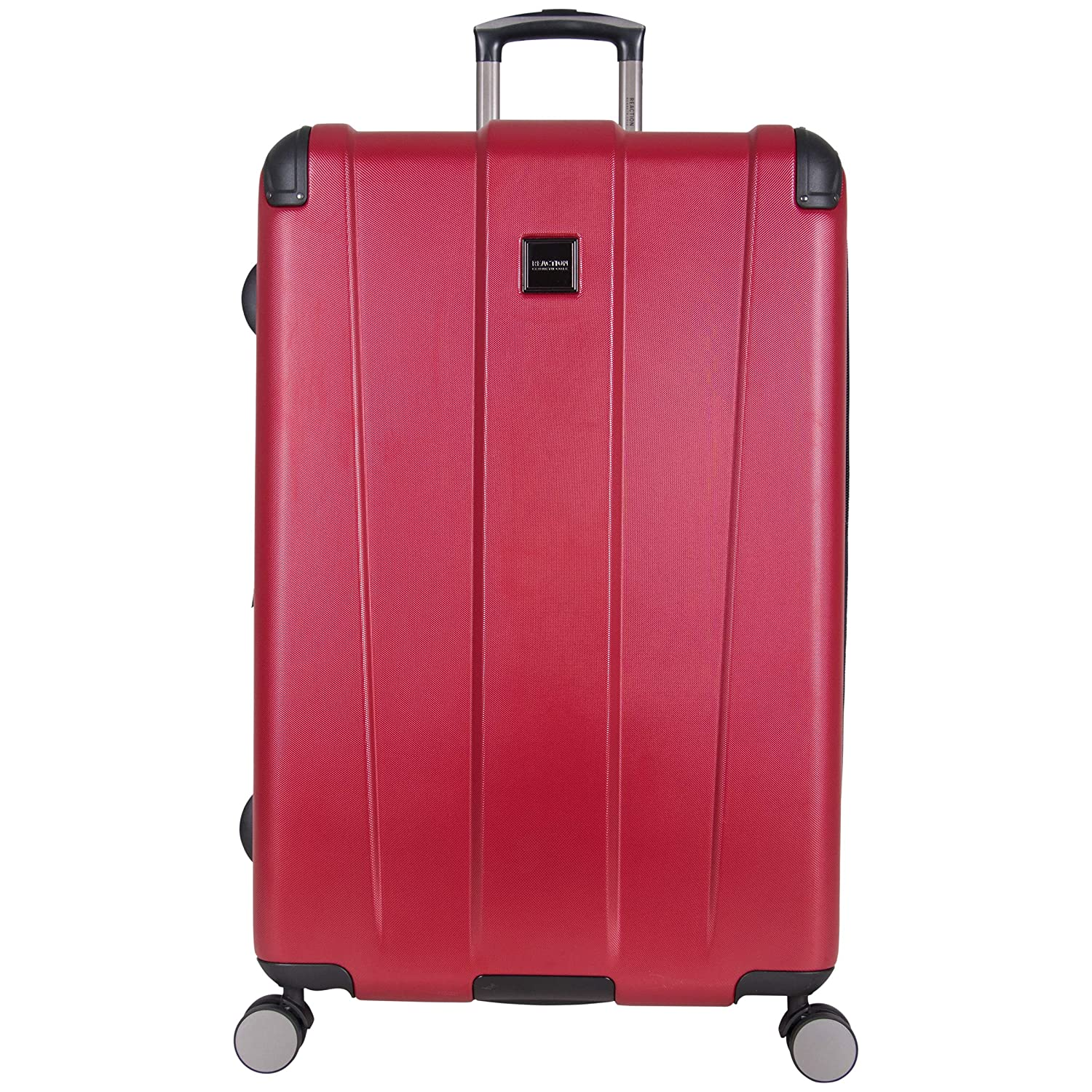 64b996431948 Reaction Kenneth Cole Continuum Large Red Spinner Suitcase - 28 Inch