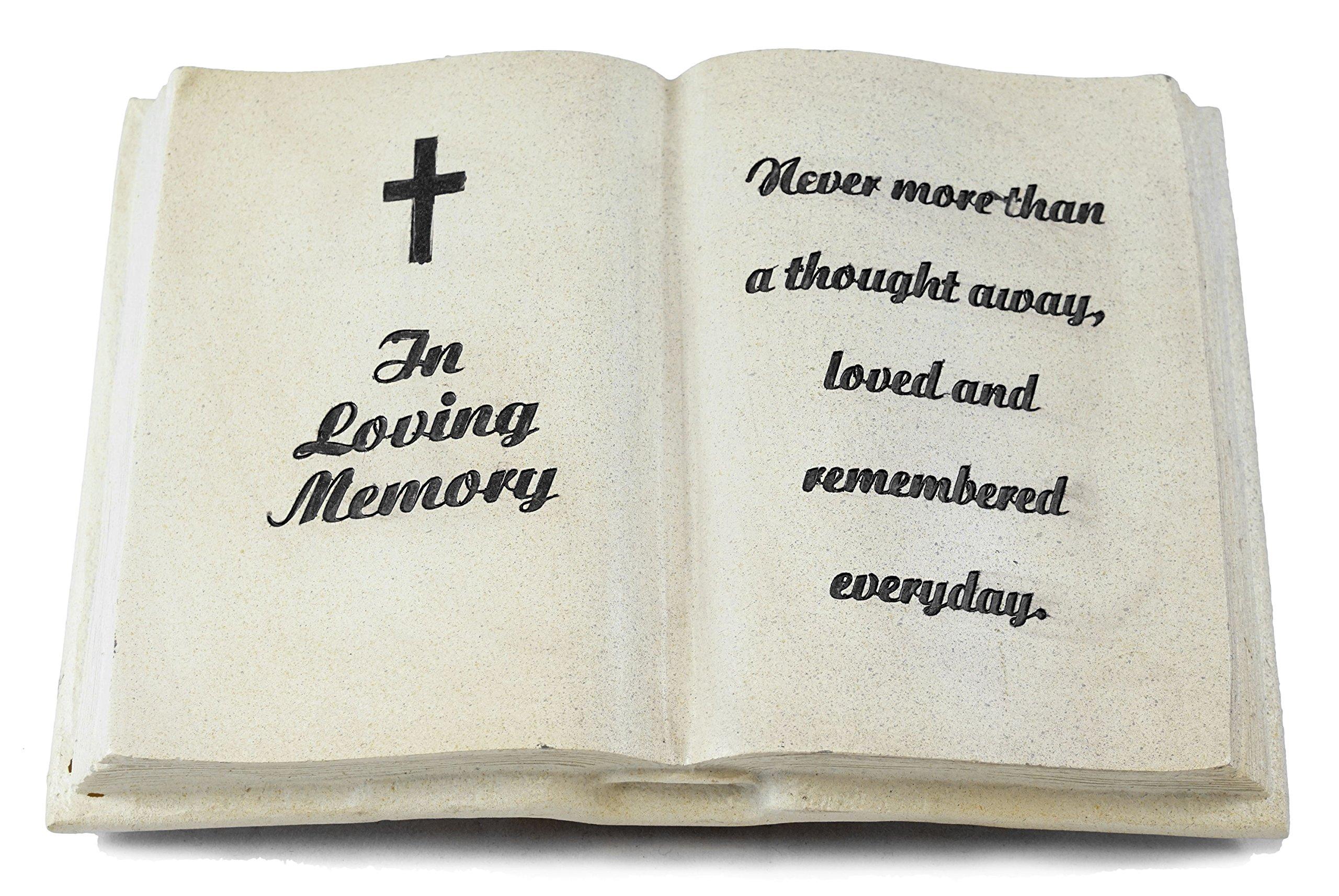 In Loving Memory Bible Memorial Statue