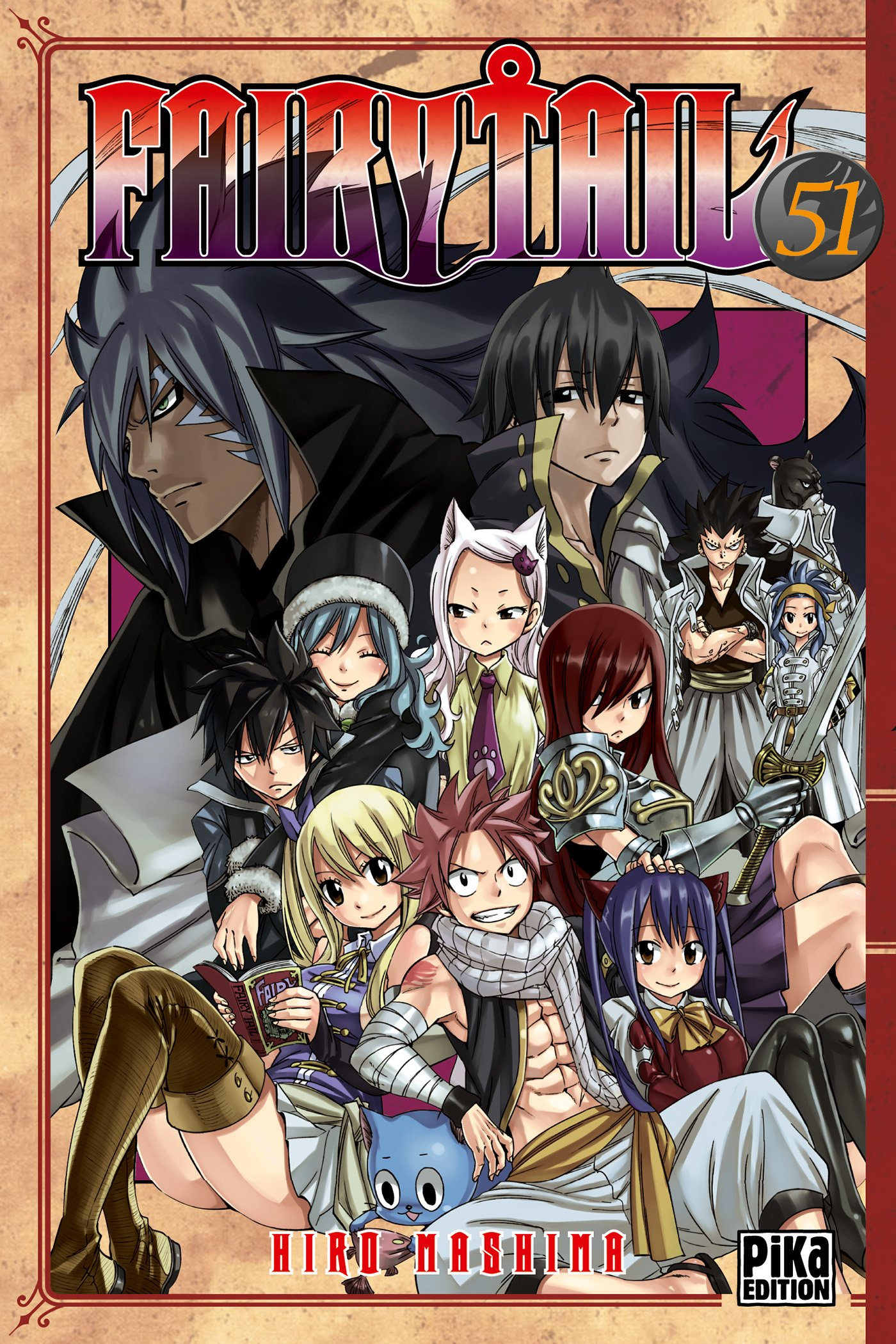 Fairy Tail T 51 Hiro Mashima 9782811630065 Books Amazon Ca