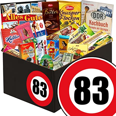 83 Geburtstag Geschenk Schokolade Geburtstag Gratis Ddr