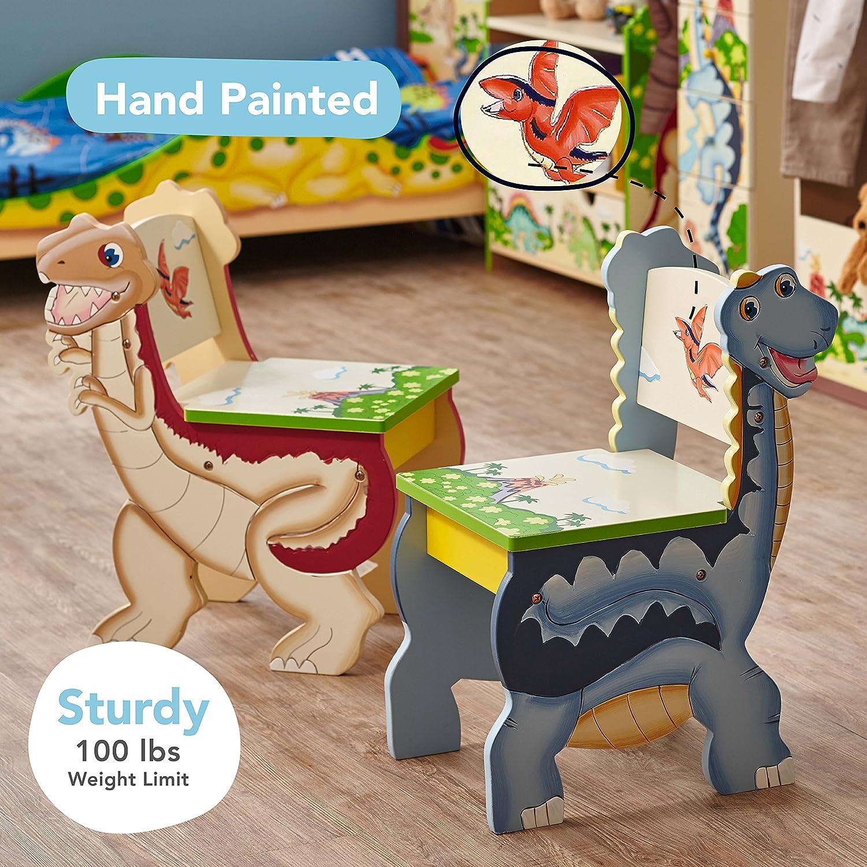 Fantasy Fields by Teamson TD-0079A Dinosaur Table und Chair Set 2