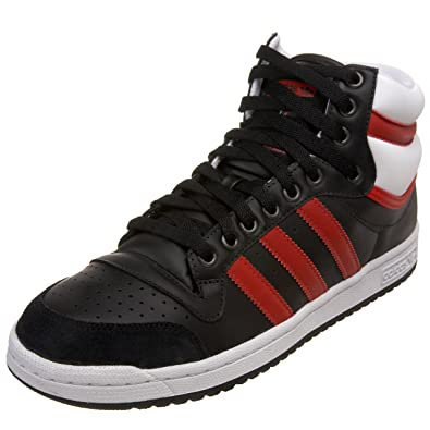 best service 42e11 3b38f Adidas Originals Men s Top Ten Hi Sneaker, Black Red White, 7.5 M  Buy  Online at Low Prices in India - Amazon.in