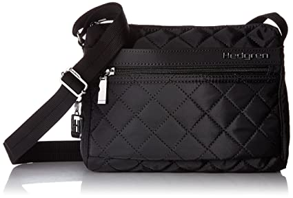 street price 2019 discount sale perfect quality Hedgren Carina Crossbody Shoulder Bag, Purse with Adjustable Strap and 5  Pockets, 9 x 3.5 x 7 Inches, Womens, Black
