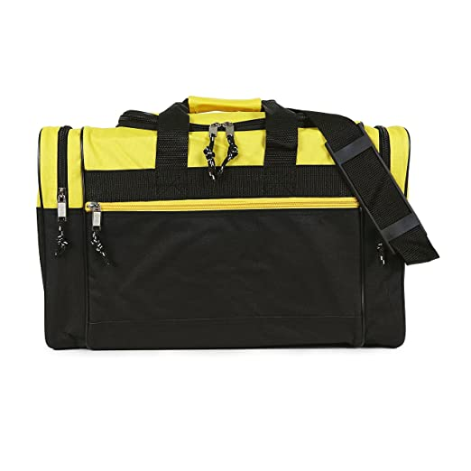 bc31dd5e900 Image Unavailable. Image not available for. Color  NuFazes 17 quot  Duffel  Bag Travel Size Sports Gym ...