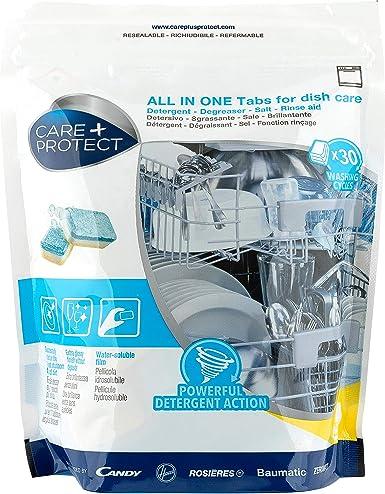 Care + Protect - Todo en Uno Pastillas Detergentes Para ...