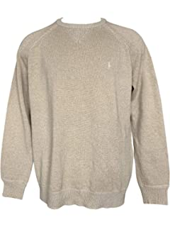 cda697cce Polo Ralph Lauren Men s Big   Tall Crew Neck Pullover Sweater Ribbed Long  Sleeve Sweaters