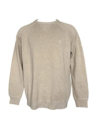 30fc732e1e2b02 POLO RALPH LAUREN Men's Big & Tall Crew Neck Pullover Sweater Ribbed Long  Sleeve Sweaters (