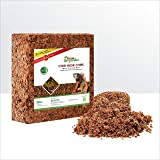 Grow Organiks Coconut Coir Husk Chips 11Lbs, Coco Coir Fibre Mulch-Reptile Substrate/Potting Soil Mix for Greenhouse & Orname