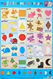 Colours and Shapes Wall Chart (Wall Charts)