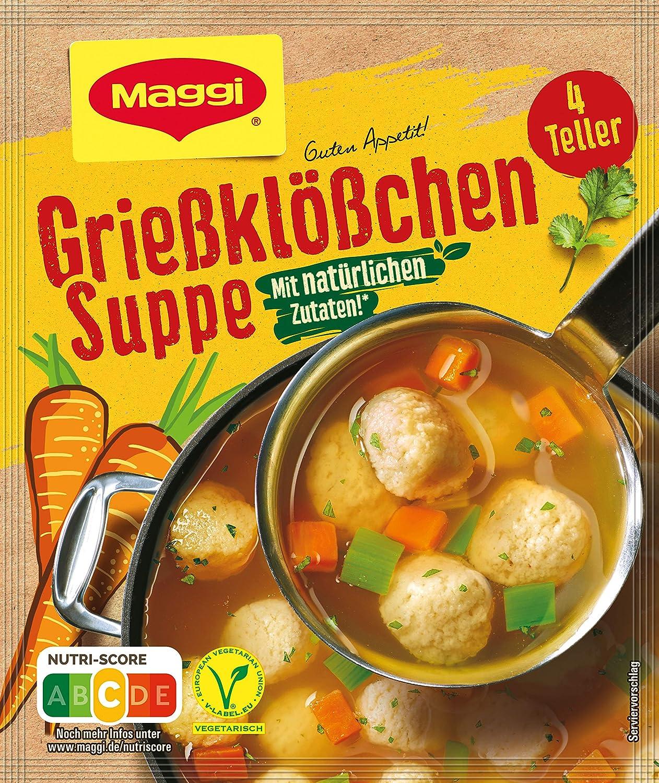 Maggi - Griesskloesschen Suppe (Semolina Dumpling Soup Mix)