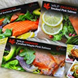 Smoked Salmon Food Gift Pack Featuring Wild Canadian Salmon and Seafood Pate   Food Gift Box