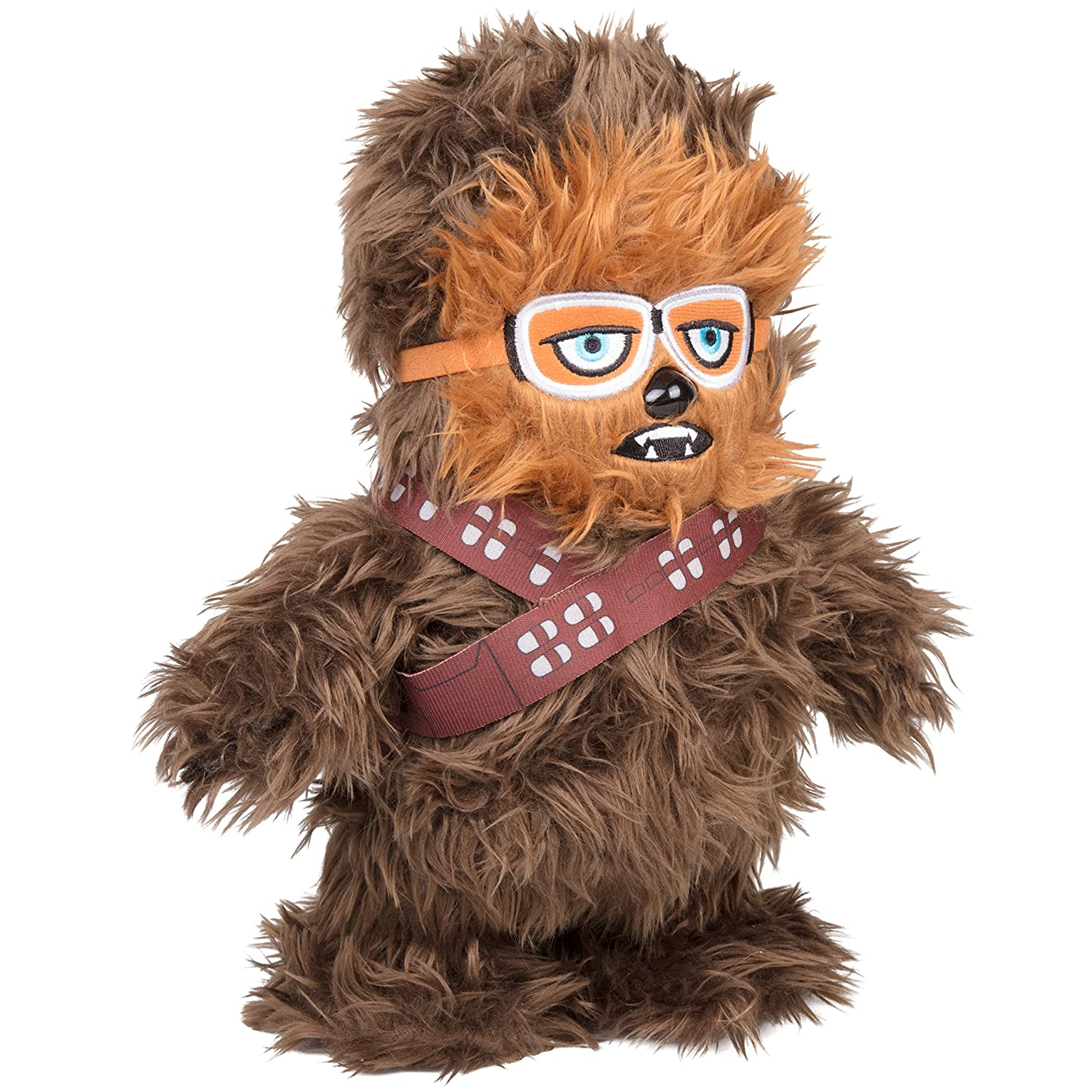 SCS Direct Star Wars Solo Movie Chewbacca Interactive Walk N' Roar 12 Plush Makes Wookiee Talking Sounds and Walks