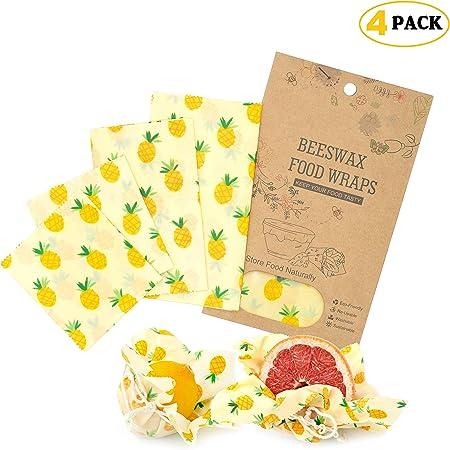 Natural Bee Wraps - Pañuelos de cera para el crecimiento de abejas ...