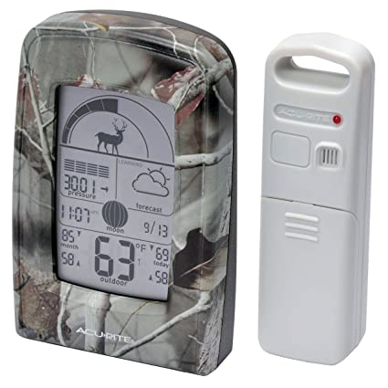 AcuRite 00250 My Backyard Weather Sportsman Forecaster - Amazon.com: AcuRite 00250 My Backyard Weather Sportsman Forecaster