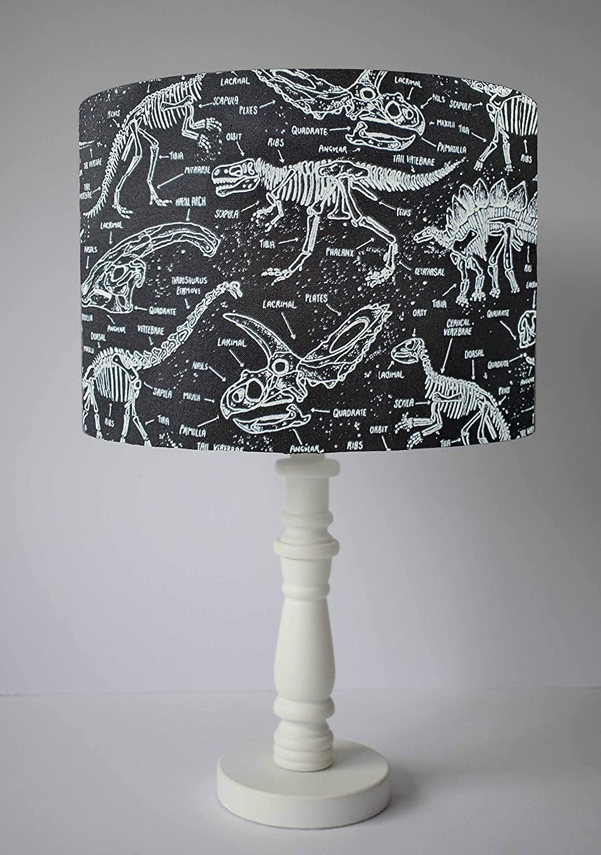 Dinosaur Skeleton Lampshade Table Floor Lampshade 3 Diameter Sizes Glow In The Dark Ceiling Pendant