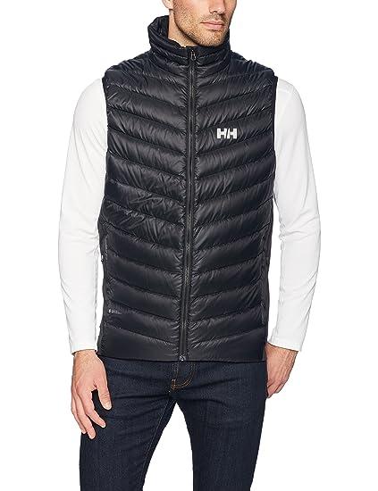 2b6e95d208f2 Amazon.com  Helly Hansen Men s Verglas Puffy Down Insulator Vest ...