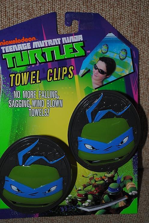 Teenage Mutant Ninja Turtles Beach Towel Clips Set of Two