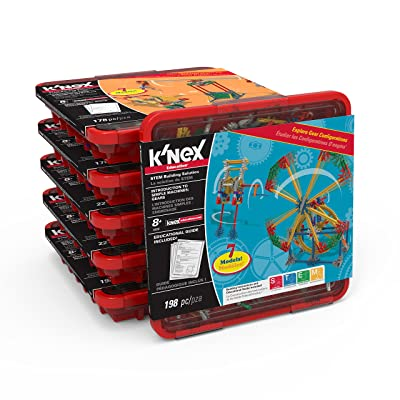 K'NEX Education - Simple Machines Classroom Pack - for 12-18 Students - Elementary Education Set: Toys & Games