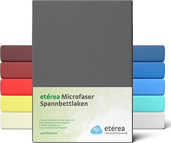 etérea Microfaser Matratzenschoner Emily Spannbettlaken Schoner Matratzenschutz
