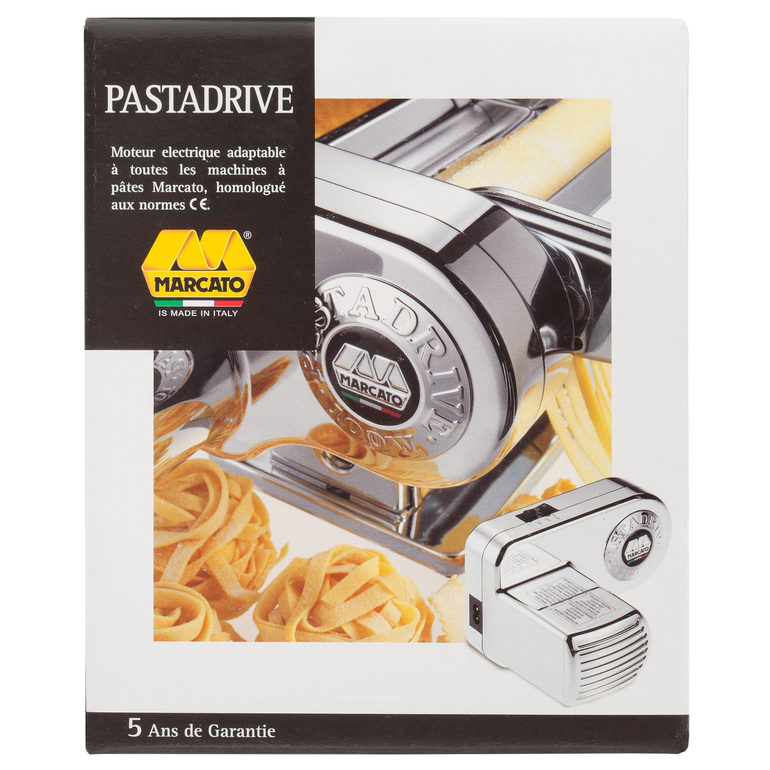 Marcato Atlas Pasta Machine Electric Motor Attachment by Marcato