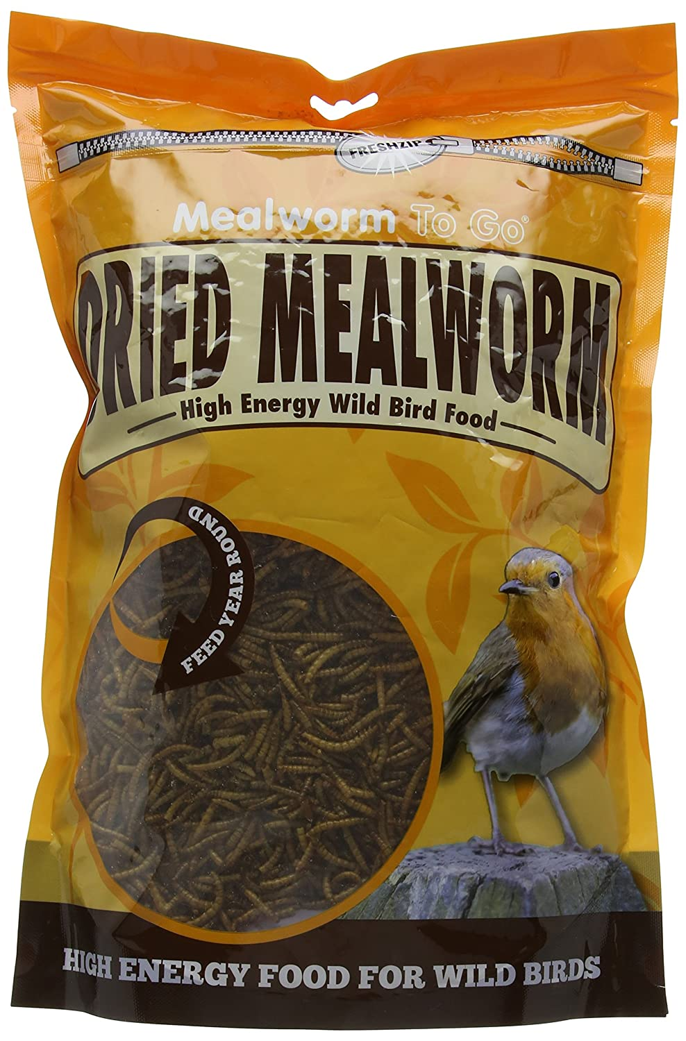 Mealworm To Go Dried Mealworm, 500 g 08WB125