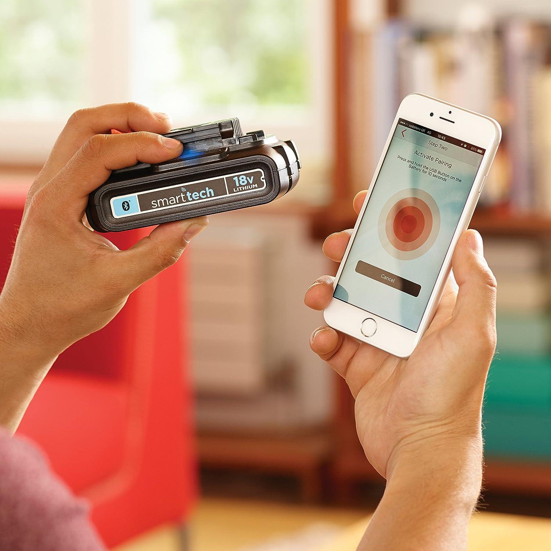Black & Decker BL1518STC-FR Kit Batterie Connectée Smart-tech 18 V 1,5 Ah avec Chargeur Rapide 1 A: Amazon.fr: Bricolage