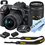 Nikon D7500 DSLR Camera Kit with 18-55mm VR Lens | Built-in Wi-Fi | 20.9 MP CMOS Sensor | EXPEED 5 Image Processor and…