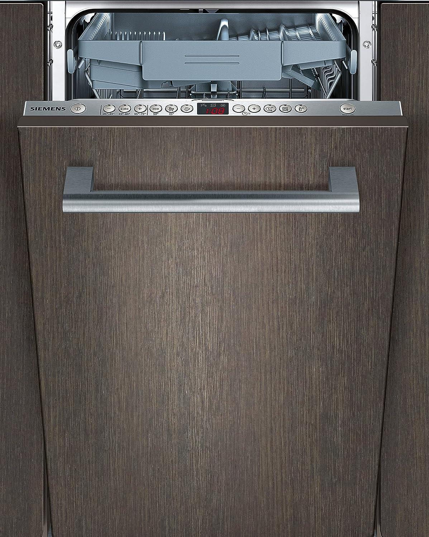 44 db//Startzeitvorwahl//Restzeit-Anzeige 10 Ma/ßgedecke A Siemens SR66T094EU vollintegrierbarer Geschirrsp/üler//A+