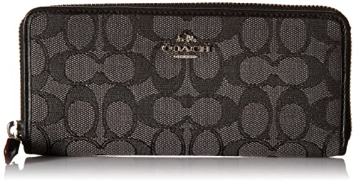 7baba9d5b174 Coach Slim Accordion Zip Wallet In Signature Jacquard  Amazon.ca  Jewelry