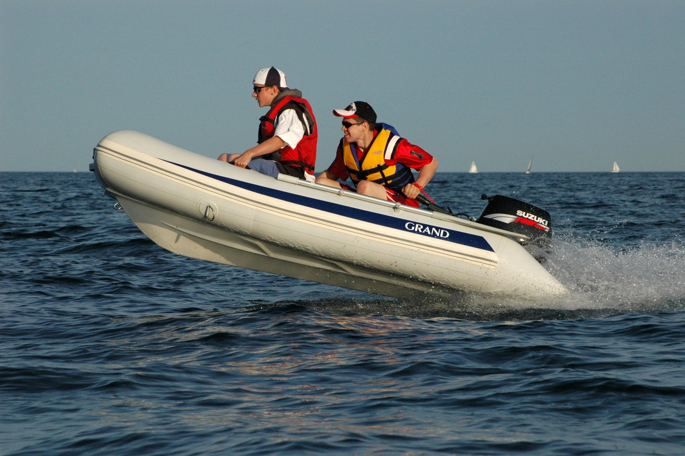 Grand Silver Line Inflatable Boat S250