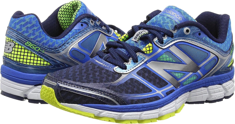 New BalanceM860 - Zapatillas de Running Hombre, Color Azul, Talla 46: Amazon.es: Zapatos y complementos