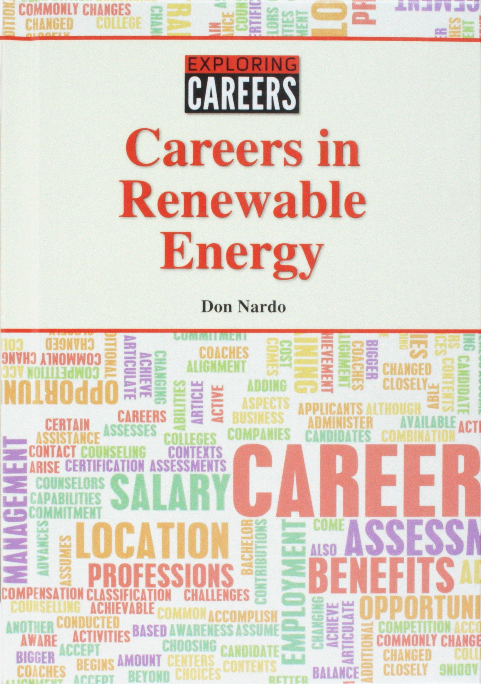 Careers in Renewable Energy Careers in Renewable Energy (Exploring Careers) PDF