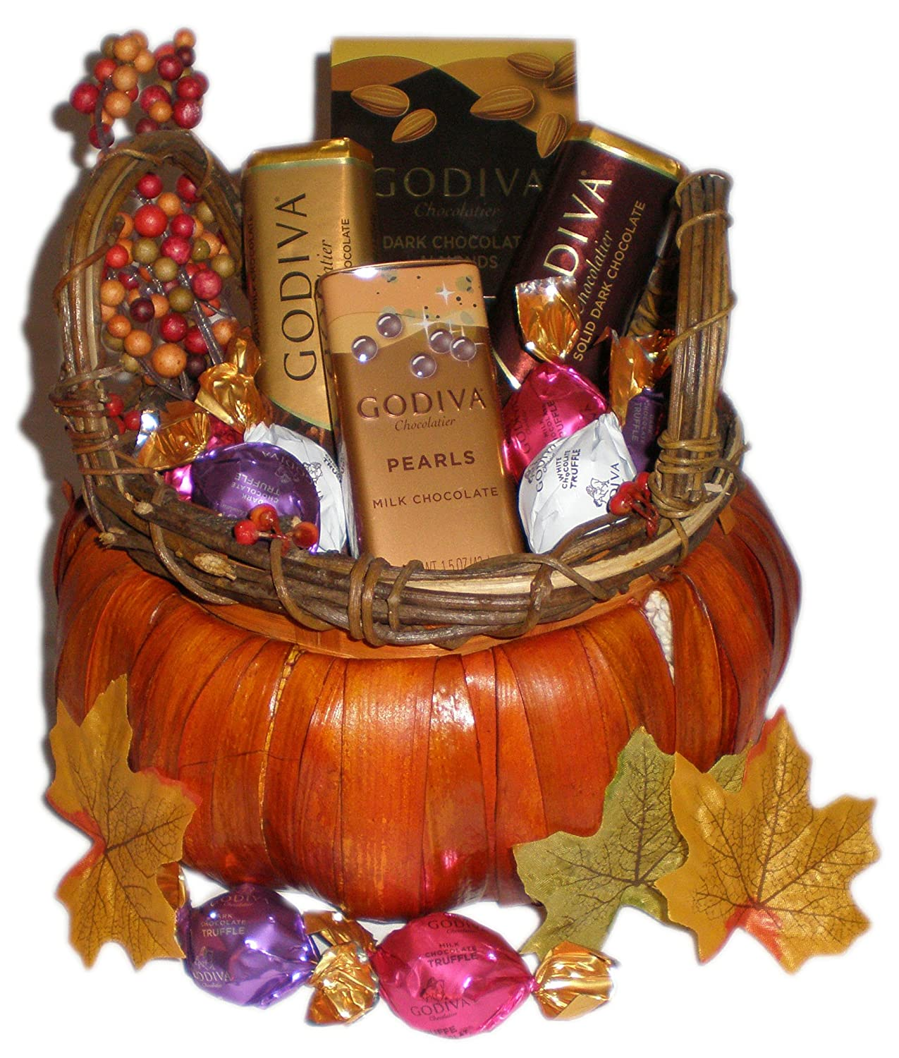 Amazon.com : Happy Boss's Day! Godiva Gourmet Fall Chocolate Gift ...