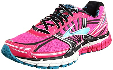 low priced 6deef b36c8 Brooks Adrenaline GTS 14 W, Women s Running Shoes, Pink Glow Black Capri