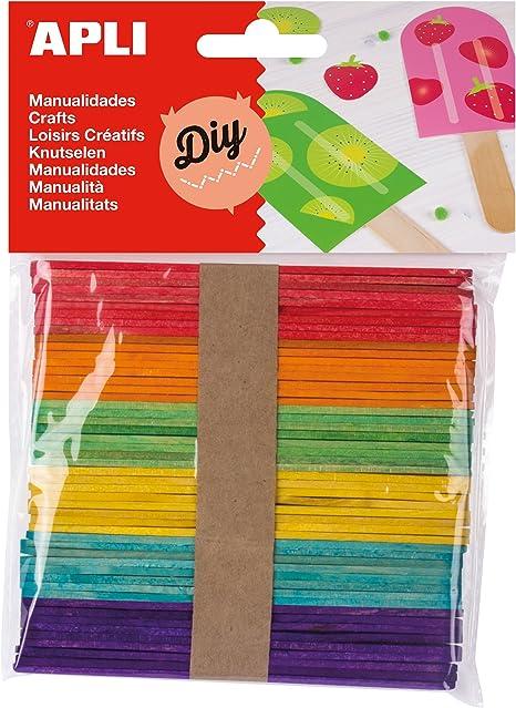 APLI - Bolsa palo polo colores surtidos, 50 uds: Amazon.es ...